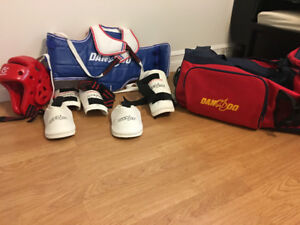 Tae Kwon do sparring gear kids small