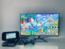 Nintendo Wio U + 280 Games