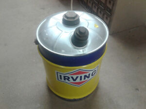Irving 5 gallon can