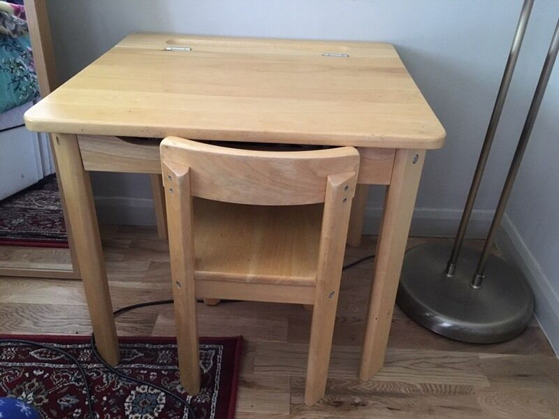 Beech Child S Desk And Chair John Lewis