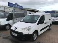 2011 11 PEUGEOT PARTNER 850s HDI VAN TURBO DIESEL LOW MILES NO VAT SUPERB DRIVE!