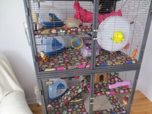 Cage petits animaux /Rats-Furets ,ect