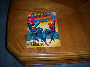 superman & spiderman magazine