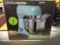 Brand new Kitchenmaster 1200w professional mixer.