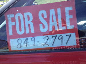 red cutless convertable for sale 58000miles  not kilometers