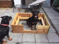 Large puppy whelping box