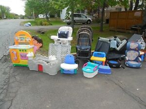 BABY ITEMS and MORE...MUST be gone by 1pm today!!