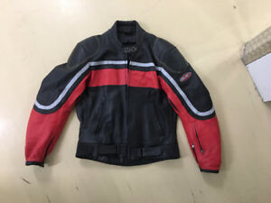 HJC leather bike jacket