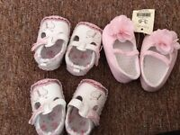 Rand new baby shoes