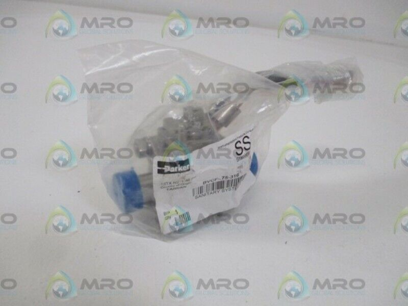 PARKER BVCF-.75-316 BALL VALVE * NEW IN A BAG *