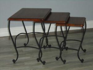 Set of Three Nesting Tables