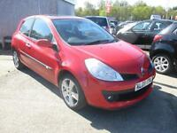 2008 Renault Clio 1.2 16v Dynamique S a/c FULL MOT, SERVICE HISTORYPART LEATHER