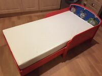Toddler Thomas The Tank Engine Bed