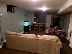 Basement Apartment $1100