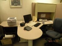 office furniture & equipment in good condition