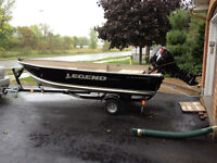 2013 Legend boat with Suzuki 25hp 4 stroke motor