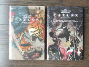 Fables The Deluxe Edition Book One & Two Hardcover NEW Graphic