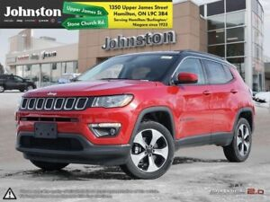 2018 Jeep Compass North 4x4  - Navigation -  Uconnect - $93.36 /