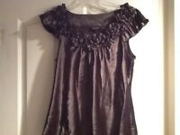 Ladies Dress Top - Size 12 - In Excellent Condition