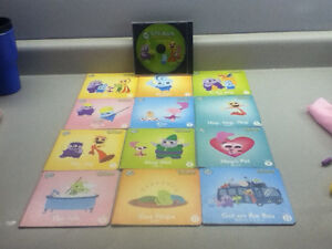 LEAP FROG SING ALONG READ ALONG EDUCATIONAL BOOKS