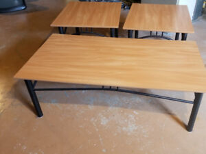 Lightweight coffee and end tables