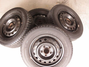 SNOW TIRES AND RIMS FOR SALE Peterborough Peterborough Area image 2