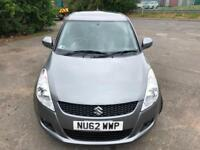SUZUKI SWIFT 1.2 SZ4 £25 WEEK NO DEPOSIT GREAT 1ST CAR CD/MP3/USB A/C 5DR 2012