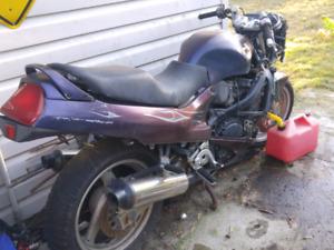 Parts bike