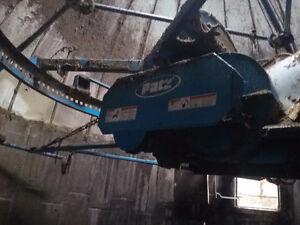 Videur de silo Patz à vis pour silo de 16 pieds