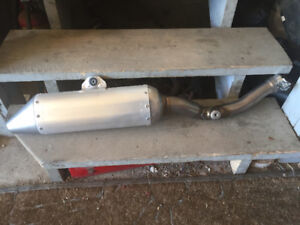 New Yamaha silencer for 2006-2009 yzf 250