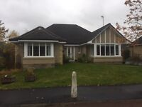 Detached 4 bedroom bungalow with double garage