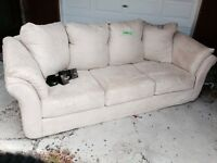 Microfibre couch $40
