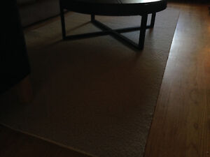 4'3 by 9'9 Colin Cambell 100% Wool area rug