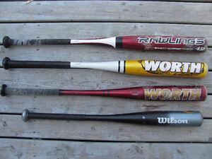 Little league bats 30 inches long 18 - 20 ounces $12 each