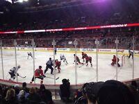 LOWER BOWL SEATS Flames vs Bruins - Dec 4th - Sec 102 Row 8