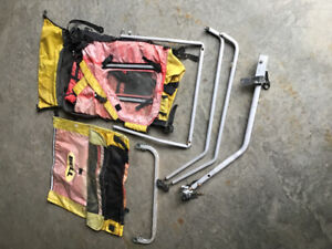 Kid's bicycle trailer parts