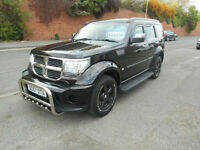 DODGE NITRO SE DIESEL MANUAL 4X4 5 DOOR
