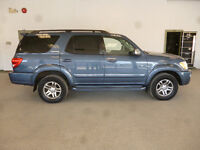 2007 TOYOTA SEQUOIA LIMITED! 8PASS! LEATHER! RARE! ONLY $14,900!