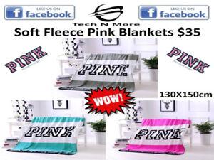 Pink Fleece Blankets