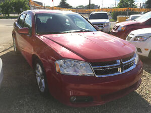 2013 DODGE AVENGER SXT 110000 KM REMOTE START FULLY DETAIL