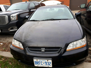 2000 Honda accord AS IS