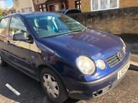 Volkswagen Polo 1.4 ( 75bhp ) automatic 2003 new mot