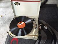 Dansette style Phillips disc jockey record player rare !!