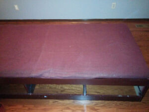 Twin Size Bed with Mattress Kitchener / Waterloo Kitchener Area image 1