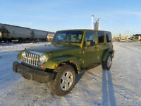 2007 Jeep Wrangler unlimited 30km on engine