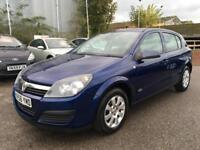 2006 Vauxhall Astra Hatch 5Dr 1.6 16V 105 Active Petrol blue Manual
