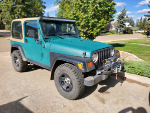 JEEP TJ **PRICE REDUCED** OBO, NEW WINCH AND 3 LIGHT BARS