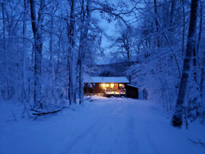 Christmas on: Lake Front Cottage:  Huntsville, Muskoka