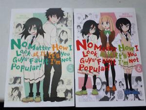 Watamote Manga VOLUME 5 & 6