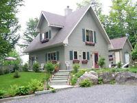 Maison Champêtre- Laurentides Soleil Levant